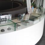 Design comptoir d'accueil