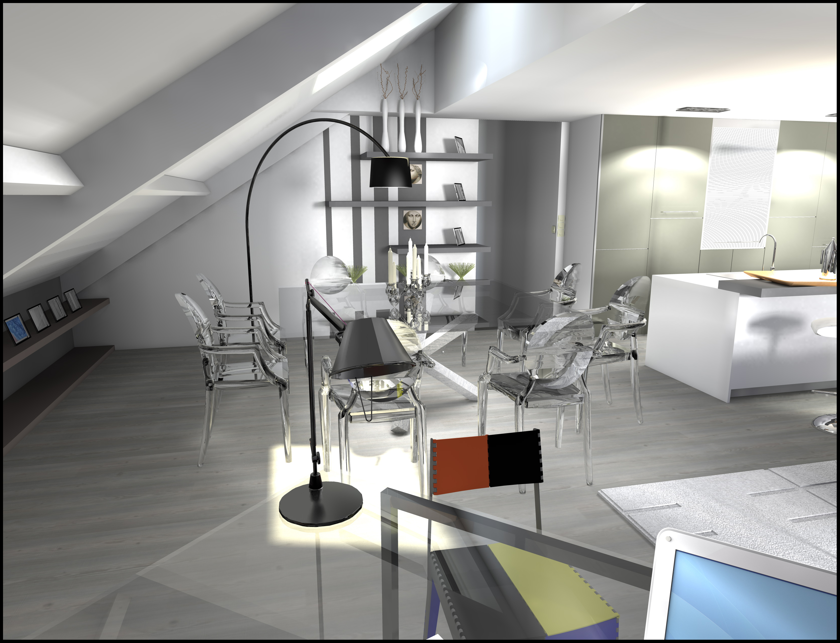 R novation d 39 un loft sur lille architecture d coration for Decoration interieur lille