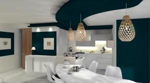 Aménagement d'un appartement neuf à Roncq