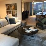 Salon salle à manger d'un appartement à Mouscron