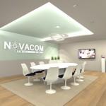 Projet 3D Salle de réunion vue 1