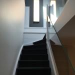 Escalier maison Croix vue en montée