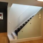 Escalier maison Croix vue de profil