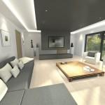 Projet 3D Aménagement extension vue 1