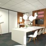 Projet 3D aménagement bureau vue 2