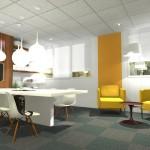 Projet 3D d'aménagement bureau