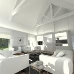 Projet 3D Maison de style Séjour