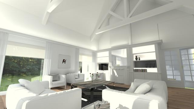 Aménagement et décoration d'une maison de style
