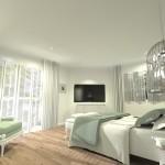 Projet 3D Maison de style Chambre vue 1